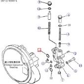 Кольцо резиновое уплотнительное (SD23) [07000-73032]